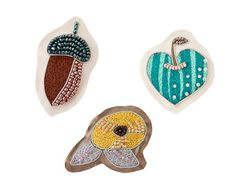 Brooch Donguri - 2011–2012 Autumn & Winter Collection - Pick Up | Sally Scott