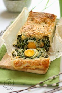Chilli, Czosnek i Oliwa | blog kulinarny: Wielkanocna tarta ze szpinakiem i jajkiem