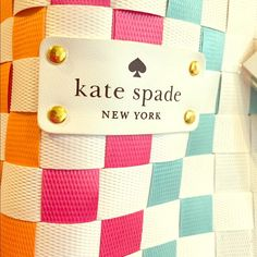 """SALE! KATE SPADE LARGE TOTE special edition Brand new Large beautifully crafted multi-colored special edition vinyl kate spade tote. Dimensions 22"""" wide 13"""" tall 5"""" deep. Straps hang 7.5 inches. kate spade Bags Totes"""