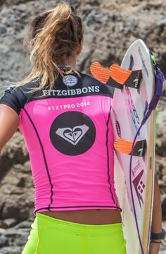 d6959f0ad89 Pro Surfer Sally-Fitzgibbons (AUS) during Roxy Pro Snapper Rocks Pro 2014