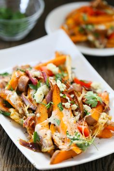 Loaded baked sweet potatoes   Eat Good 4 Life. These are gluten free. You can use any other cheese of your choice. Extremely easy to make, delicious and healthy.