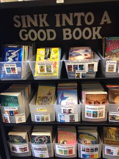 Class library sign. Nautical decor classroom. Book labels.