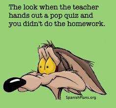 Student Memes | SpanishPlans.org