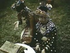 Indonesia ,Palembang, traditional dances 1955