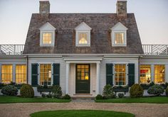 The Cape Cod Cottage- America's Fairytale Home