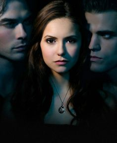Damon ★ Elena ★ Stefan - The Vampire Diaries. Two brothers, one girl.