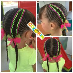 Trendy Hair Updos For Kids Beauty Baby Girl Hairstyles, Dope Hairstyles, Braided Hairstyles, Toddler Hairstyles, Hairstyle Ideas, Braids For Kids, Hair Looks, Hair Trends, Lany