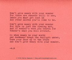 Don't Grow Weary. thepoeticunderground.com #poem #poetry
