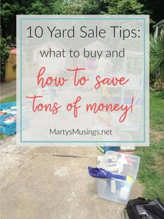 Top 10 Yard Sale Bargains  What to Buy and How to Save. Thrift StoresThrift  ... 3020b3d3b8c
