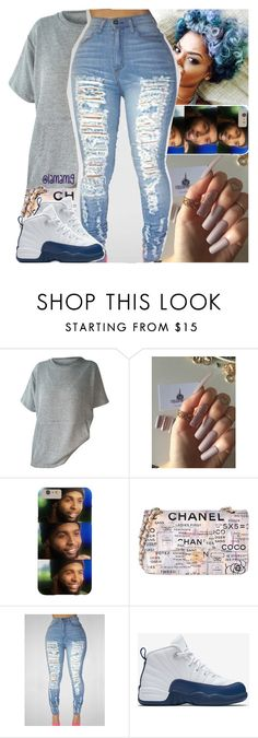 """""""yo body on my body baby."""" by lamamig ❤ liked on Polyvore featuring Chanel and NIKE"""