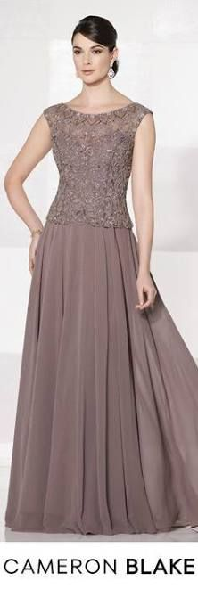 A-Line/Princess Scoop Neck Floor-Length Chiffon Lace Mother of the Bride Dress With Beading Sequins - Mother of the Bride Dresses - JJ's House Mother Of Groom Dresses, Mothers Dresses, Mother Of The Bride, Lace Evening Dresses, Evening Gowns, Short Dresses, Prom Dresses, Bride Dresses, Sleeve Dresses