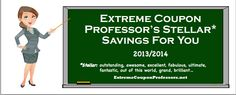 Extreme Coupon Professors - Saving budgets one family at a time!