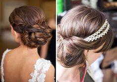 peinados de fiesta 2015 - Buscar con Google Wedding Day Makeup, Headpiece Wedding, Make Up, Google, Hair, Beauty, Shower, Ideas, Fashion