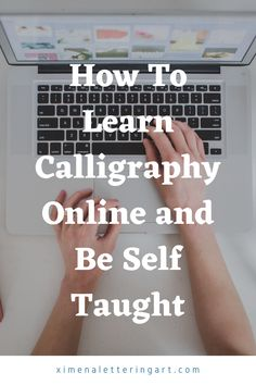 In this calligraphy step by step tutorial for beginners I am going to be showing you how to be a self taught calligrapher by just learning hand lettering (on your own) online. Some other things that I am going to be talking about are free online calligraphy course, self taught calligraphy hand lettering, free online calligraphy courses, and so much more.