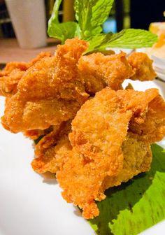 Karaage (pollo frito japonés). Ver la receta http://www.mis-recetas.org/recetas/show/23466-karaage-pollo-frito-japones