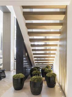 Inspiration japonaise sous les escaliers