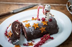 This recipe is a real project – it takes a while to make, but the results are worth it! There's plenty of opportunity for the little ones to get involved in making this charming and delicious cake from chef Colin McGurran. You'll need a Swiss roll tin for the cake and few toothpicks to help construct the snowmen to decorate the dish. Visit Tesco Real Food for more family fun recipes.