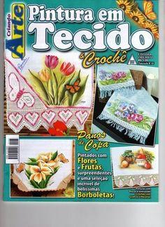 Revista pintura em tecido - Rosana Carvalho - Picasa Web Albums...FREE MAGAZINE!!