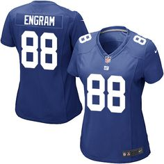 b7b73fb45 Women s Nike New York Giants  88 Evan Engram Game Royal Blue Team Color NFL  Jersey