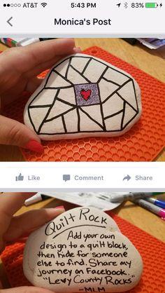Seashell Painting, Pebble Painting, Pebble Art, Stone Painting, Rock Painting Patterns, Rock Painting Ideas Easy, Rock Painting Designs, Rock Art, Rock Rock