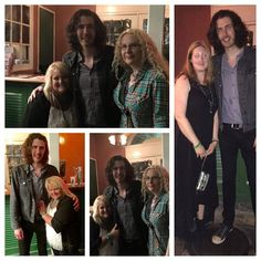 Hozier 24/7 members Heather, Susan and Rita bump into #hozier on Bourbon Street night before JazzFest-he was as nice as can be!!
