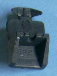 shelf support black 5mm X 3/4 13227bk 60/bag by bmi. $26.40. plastic. black 5mm X 3/4 - dual 5mm pegs for heavy duty applications - 32mm apart vertically