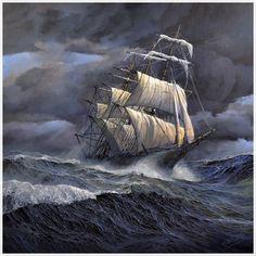 Las Mejores 150 Ideas De Tormenta En El Mar Tormenta En El Mar Barcos Pinturas De Barcos