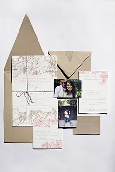pink-brown-wedding-invitations-by-wiley-valentine  Love the envelope.