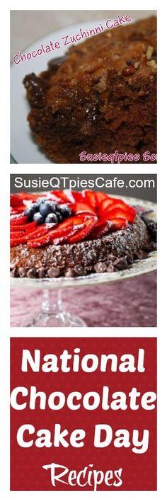 Yummy Chocolate Cake Recipes to make your Valentine..... including a Gluten Free Chocolate Cake Recipe.
