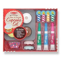 #Melissa and doug #14019 bake and #decorate cupcake set toy new,  View more on the LINK: http://www.zeppy.io/product/gb/2/231847597440/