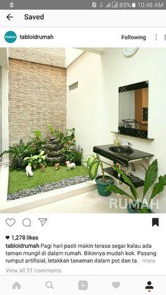 House Ideas, Patio, Outdoor Decor, Plants, Home Decor, Decoration Home, Terrace, Room Decor, Porch