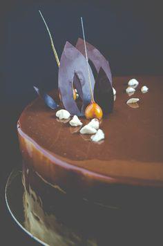 caramel entremet