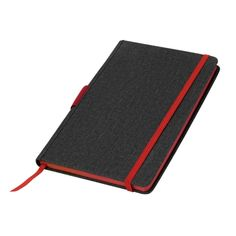Notes w linie – czerwone akcenty - Fajnynotes. A5, Zip Around Wallet, Notes, Paper, Simple Lines, Report Cards, Notebook