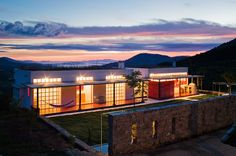 Dom Vicoso is a 240sqm house built by Brasil Arquitetura, located in a serine and desolate area of the Serra da Mantiqueira in Minas Gerais, Brazil - on a...