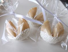 100 Custom Wedding Fortune Cookies Wedding by PixiesSweetTreats, $99.95                                                                                                                                                                                 More