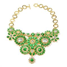 Amrita Singh | Crystal Cocoa Bib Necklace - Fashion Jewelry Necklaces #amritasingh #banglebabe