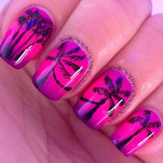 Photo by ohmygoshpolish- tropical paradise.