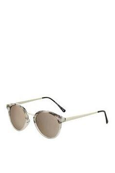 Luca Preppy Round Sunglasses