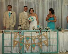 tan brown turquoise wedding - Google Search