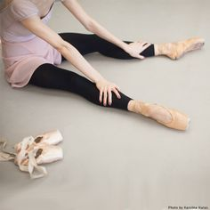"nationalballet: "" Life of a Dancer: Pancaked vs. satin. Which pointe shoes do you prefer? """