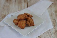 Pinchitos de pollo empanados