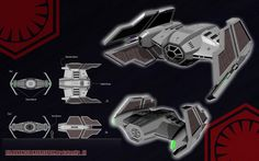 STAR WARS TIE ADVANCED INTERCEPTOR #2 by calamitySi.deviantart.com on @DeviantArt