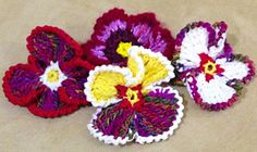 Ravelry: Frilly Pansy pattern by Iin Wibisono