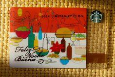The 2014 Feliz Noche Bueno Card. #StarbucksCard