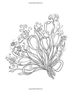 Creative Coloring Flowers Art Activity Pages To Relax And Enjoy Valentina Harper 9781574219708 Books