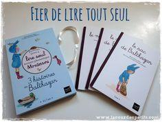 Un joli coffret de 3 livres avec des mots simples pour que les plus jeunes les lisent tout seul ! http://www.lacourdespetits.com/lire-tout-seul-avec-balthazar/ #Montessori