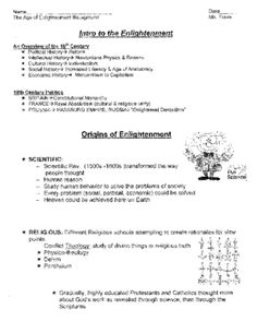 notes about enlightenment period of psychology Enlightenment: enlightenment, a  the enlightenment produced the first modern secularized theories of psychology and ethics  the age of enlightenment.
