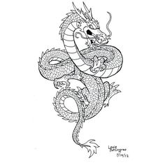 Shenlong by LouBrication on deviantART chinese dragon tattoo - Shenlong by LouB. - Shenlong by LouBrication on deviantART chinese dragon tattoo – Shenlong by LouBrication on devia - Red Dragon Tattoo, Small Dragon Tattoos, Dragon Tattoo For Women, Japanese Dragon Tattoos, Back Tattoo Women, Dragon Tattoo Designs, Small Tattoos, Dragon Tattoo Forearm, Chinese Dragon Drawing