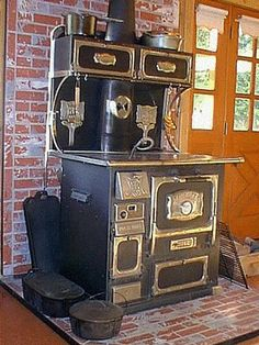 Photo Gallery - Monarch Wood Cook Stove.  I want one for my dream home in the dinning room.