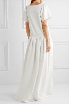 Грошовый Лондон | Стелла заниженной талией крепдешин платье | NET-A-PORTER.COM